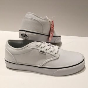 Vans Atwood white canvas sneaker shoes